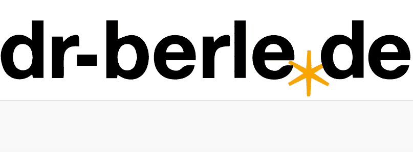 Dr. Berles Firmenlogo mit dem Lebensrad