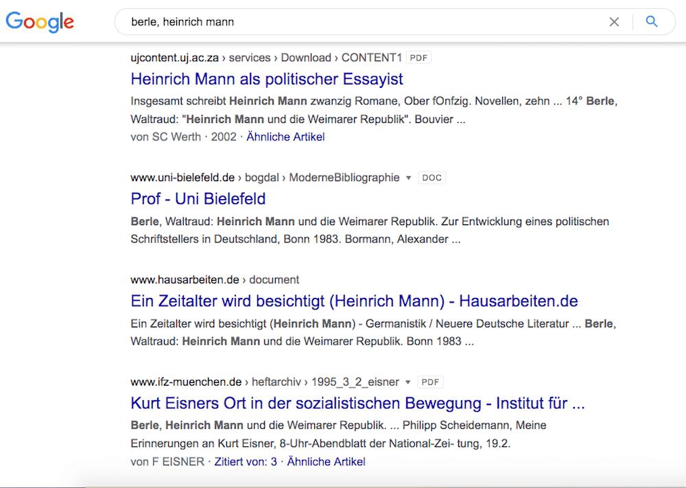 Berle-Dissertation ist kein Plagiat