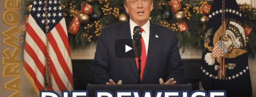 Trumps Weihnachtsrede gegen die US-Wahl