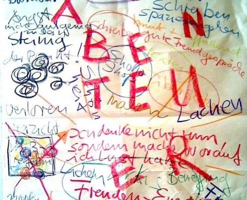 """alt=""""coaching München & Stuttgart: Dr. Berle coachingposter Schriftzug Abenteuer"""""""