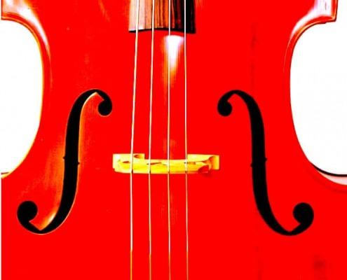 """alt=""""Coaching München & Stuttgart: Dr. Berle. berle-Grafik rotes Cello"""""""